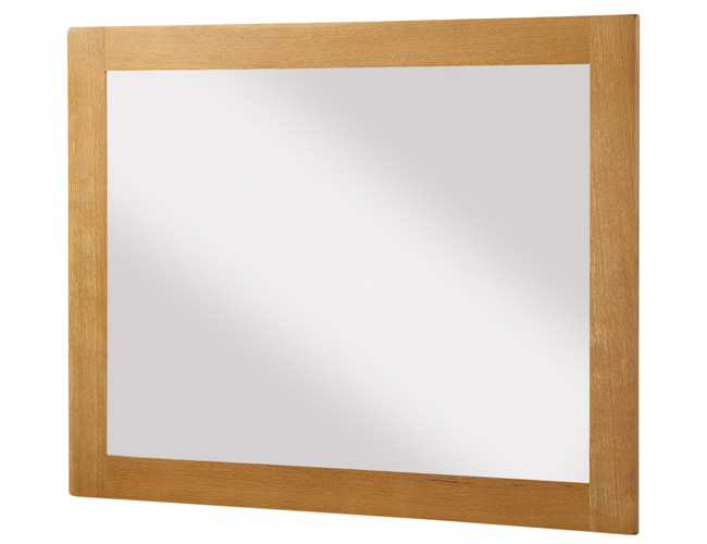 Acorn Solid Oak Mirror Large