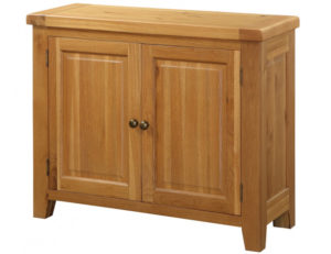 Acorn Solid Oak Sideboard Small 2 Doors