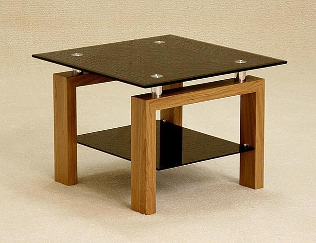 Adina Black Lamp Table