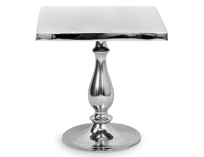 Aluminium Polished Table 15.5 Model A-6630