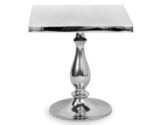 Aluminium Polished Table 15.5 Model A-6630