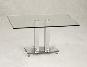 Ankara Coffee Table Chrome