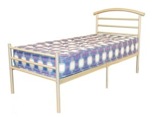 Brenington 4 Foot Bed Silver