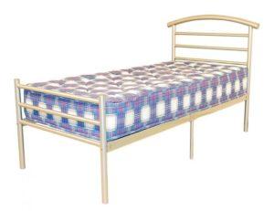 Brenington Single Bed Silver