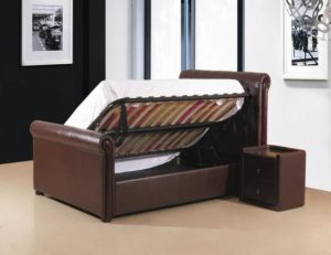 Caxton Storage PU Double Bed