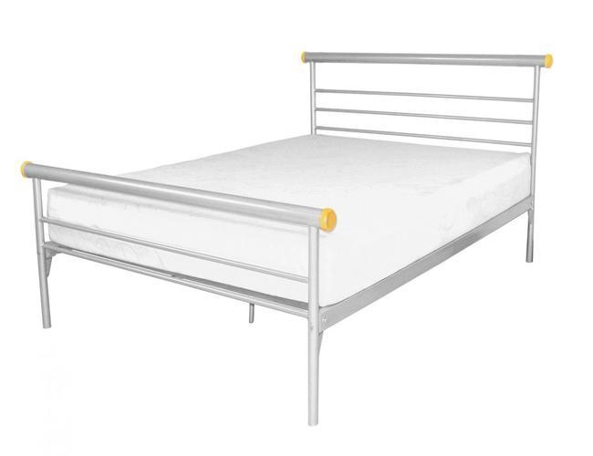 Celine Bed Single Silver