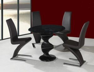 Cordoba Black Dining Table