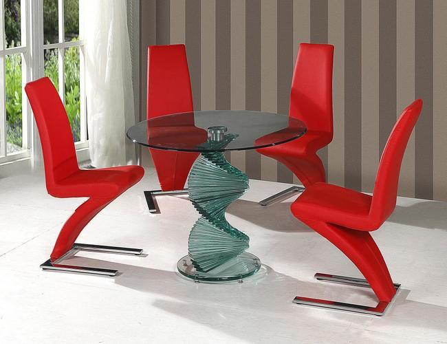 Cordoba Dining Set 4 Ankara Chairs