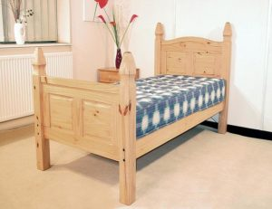Corona Bed Double High Footend