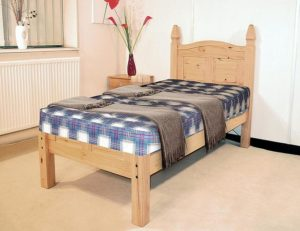 Corona Bed Double Low Footend