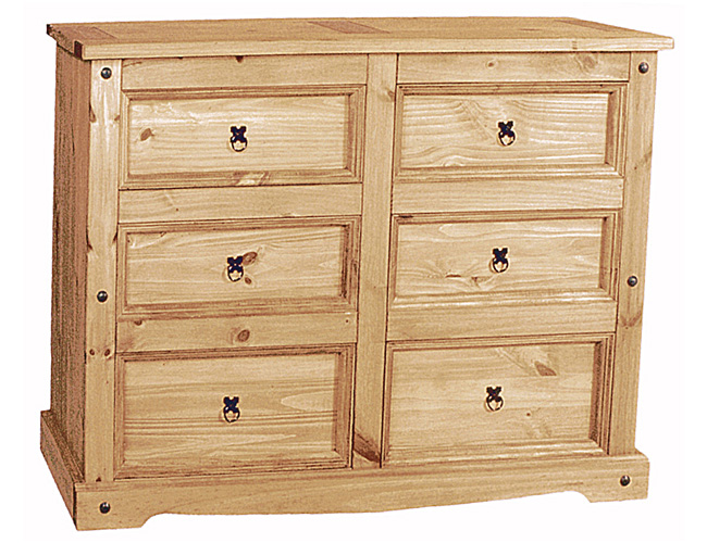 Corona Chest 6 Draw Extra Wide