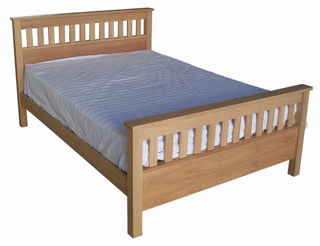 Cucina Solid Ash Bed Single