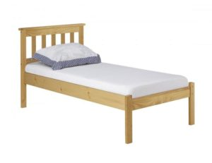 Eccles Pine Bed Single Antique