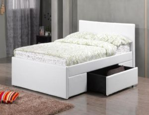 Fusion 2 Drawer PU Single Bed