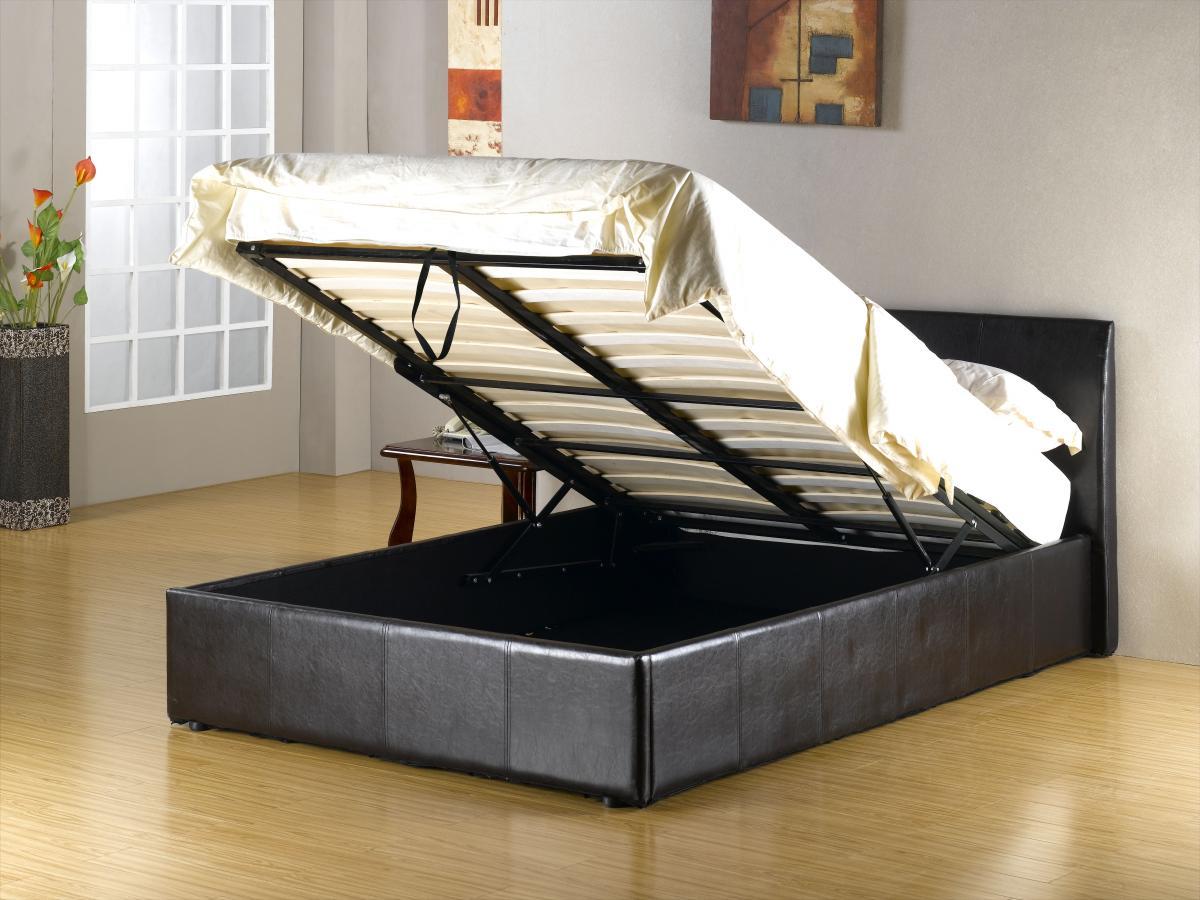 Fusion Storage PU Single Bed