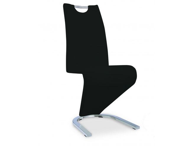 Kingsway Dining Chair Vintage PU Black