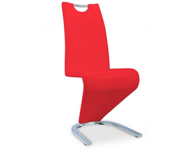 Kingsway Dining Chair Vintage PU Red