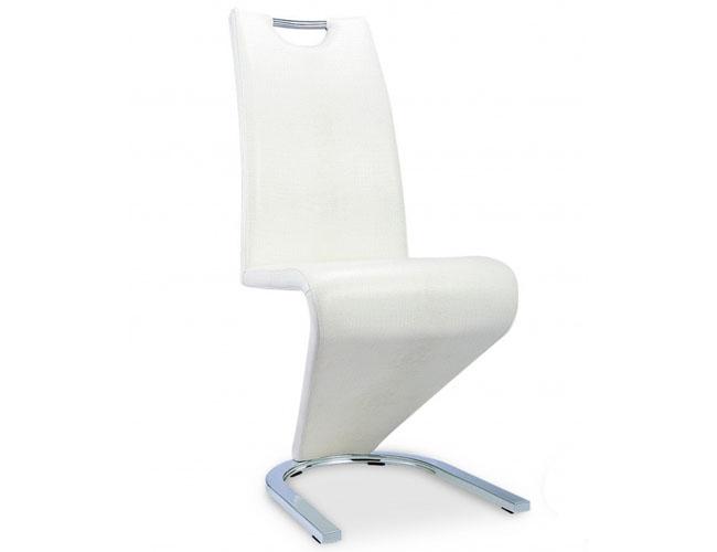 Kingsway Dining Chair Vintage PU White