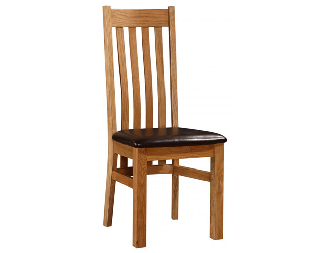 Louisa Chair Solid Oak Natural