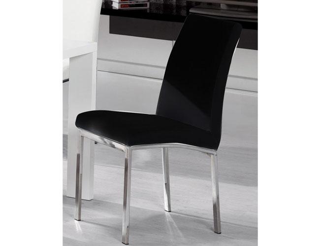Peru PU Chair Chrome